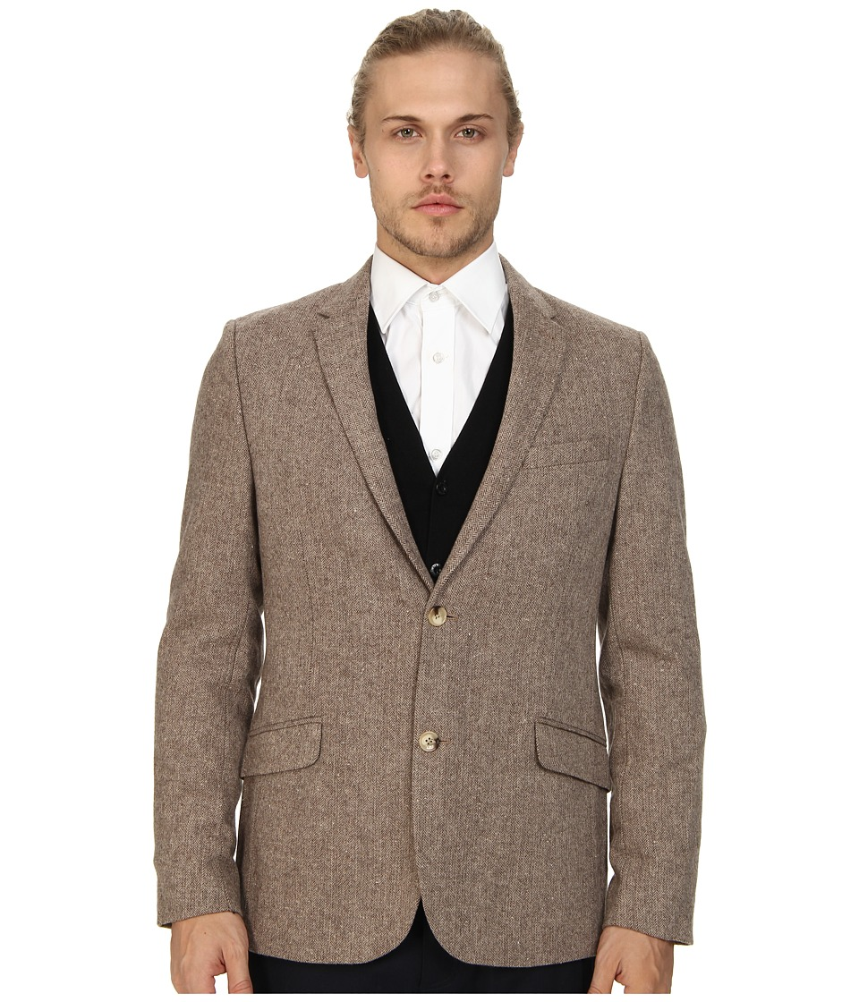 Ben Sherman - Herringbone Blazer (Moon) Men's Jacket