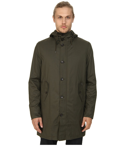 Ben Sherman - Lightweight Parka (Forest Night) Men