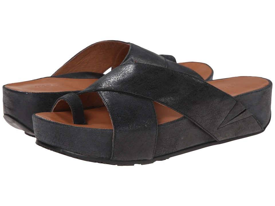 Gentle Souls - Elton (Black Nubuck) Women's Sandals