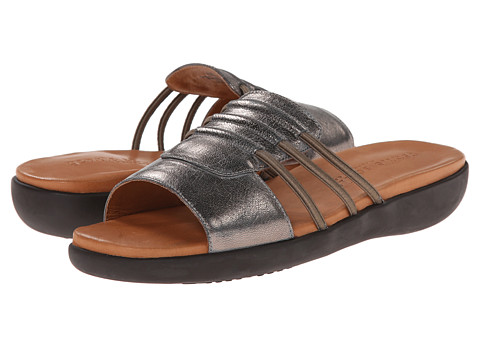 Gentle Souls - Gail (Graphite Leather) Women's Sandals