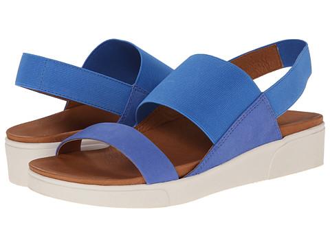 Gentle Souls - Lansbury (Bright Blue Elastic) Women's Shoes