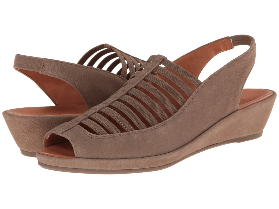 Gentle Souls - Lee (Putty Nubuck) Women's Sling Back Shoes