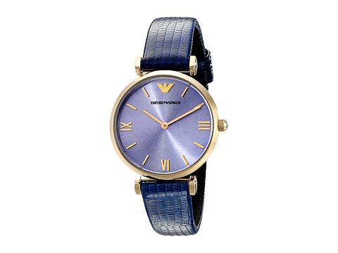 Emporio Armani - AR1875 (Navy/Gold) Watches