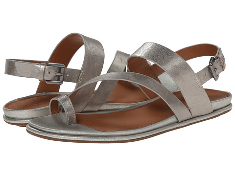 Gentle Souls - Oakland (Pewter Leather) Women's Sandals