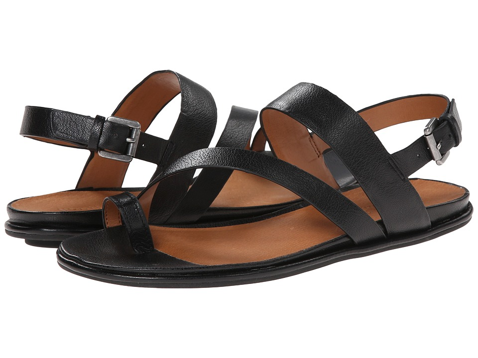 Gentle Souls - Oakland (Black Leather) Women's Sandals