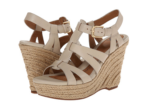 Sofft - Pahana (Beige M-Vege) Women's Wedge Shoes