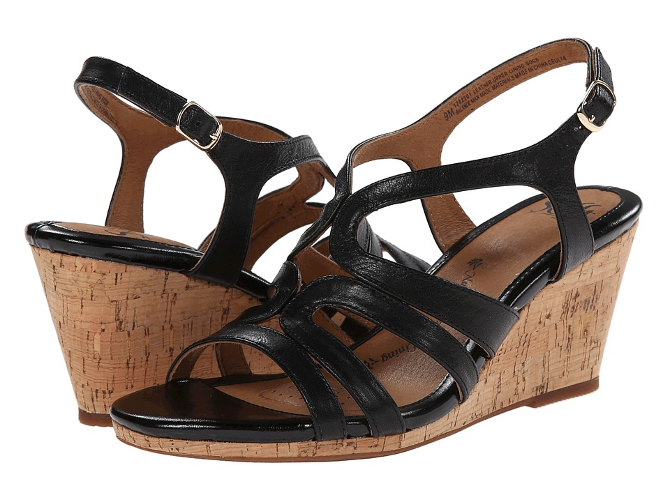 Sofft - Corinth (Black Goat Leather Pull Up) Women
