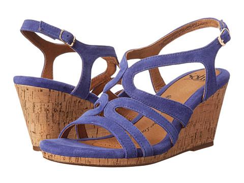 Sofft - Corinth (Cobalt Blue King Suede) Women's Dress Sandals