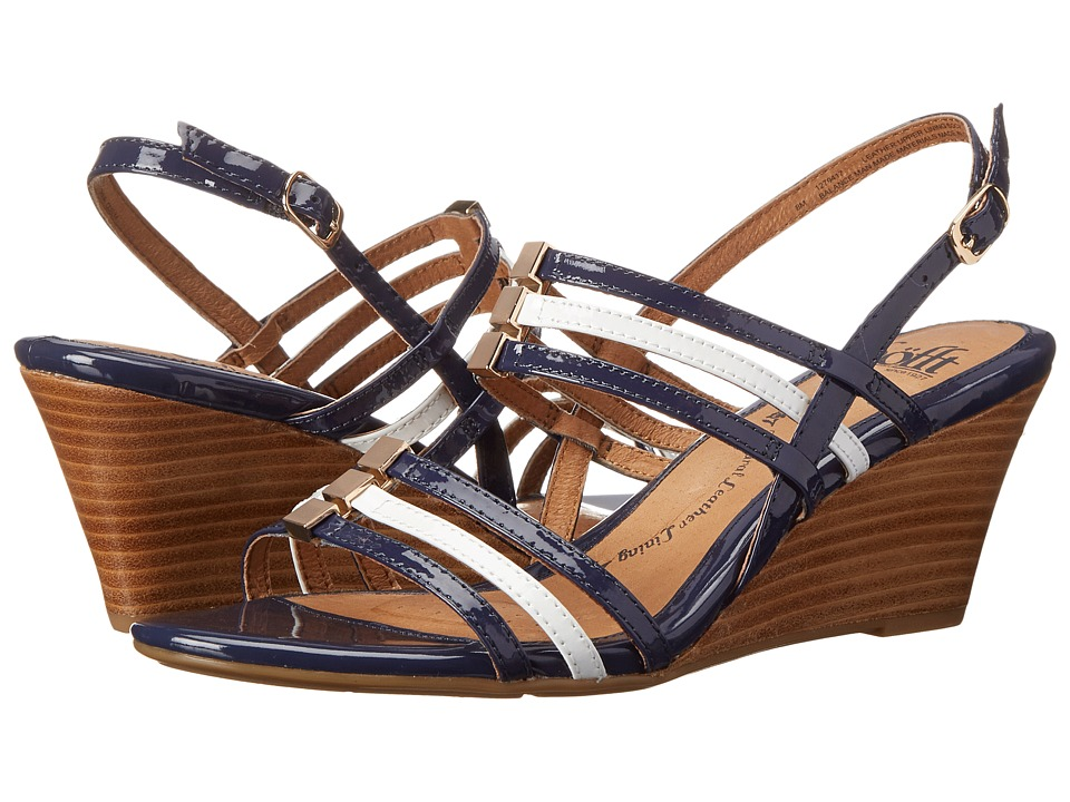 Sofft Posh (Navy/White Patent) Women