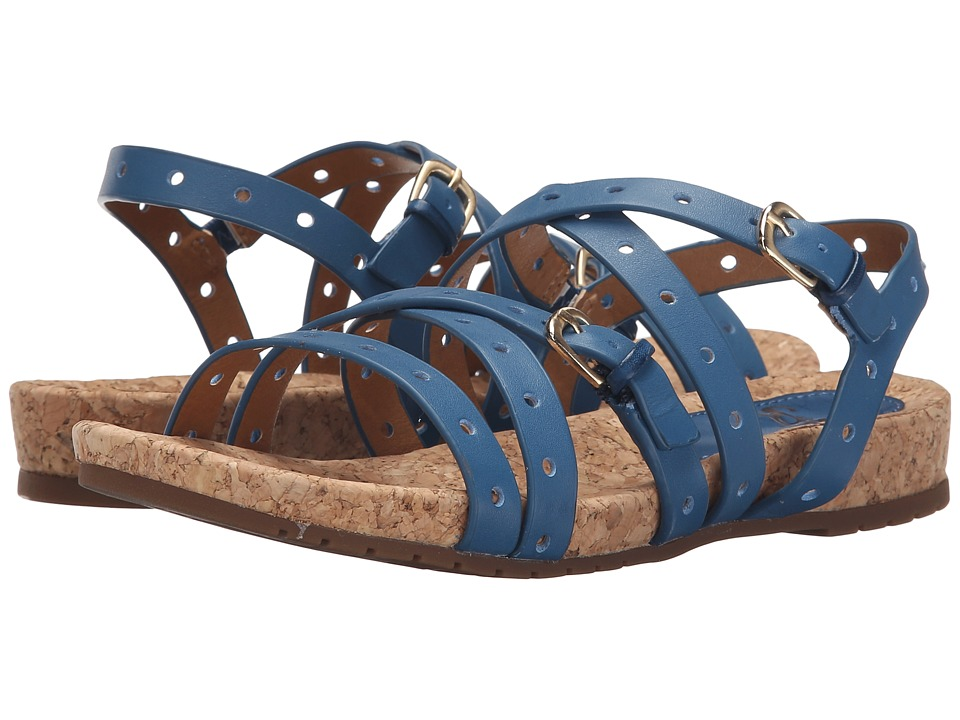Sofft - Malana (French Blue M-Vege) Women's Sandals