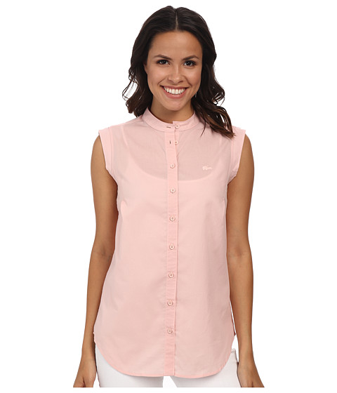 Lacoste - Sleeveless Shirt CF7463 (Lychee Pink) Women's Sleeveless