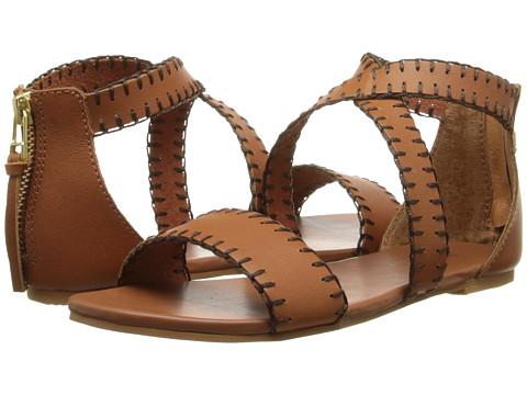 Polo Ralph Lauren Kids - Mallorie (Little Kid/Big Kid) (Tan Vachetta Leather) Girls Shoes