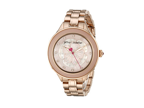 Betsey Johnson - BJ00469-04 (Rose Gold/Mother Of Pearl) Watches