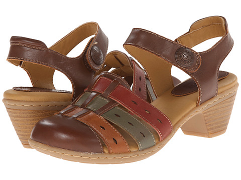 Softspots - Shelly (Cognac Multi M-Vege) Women