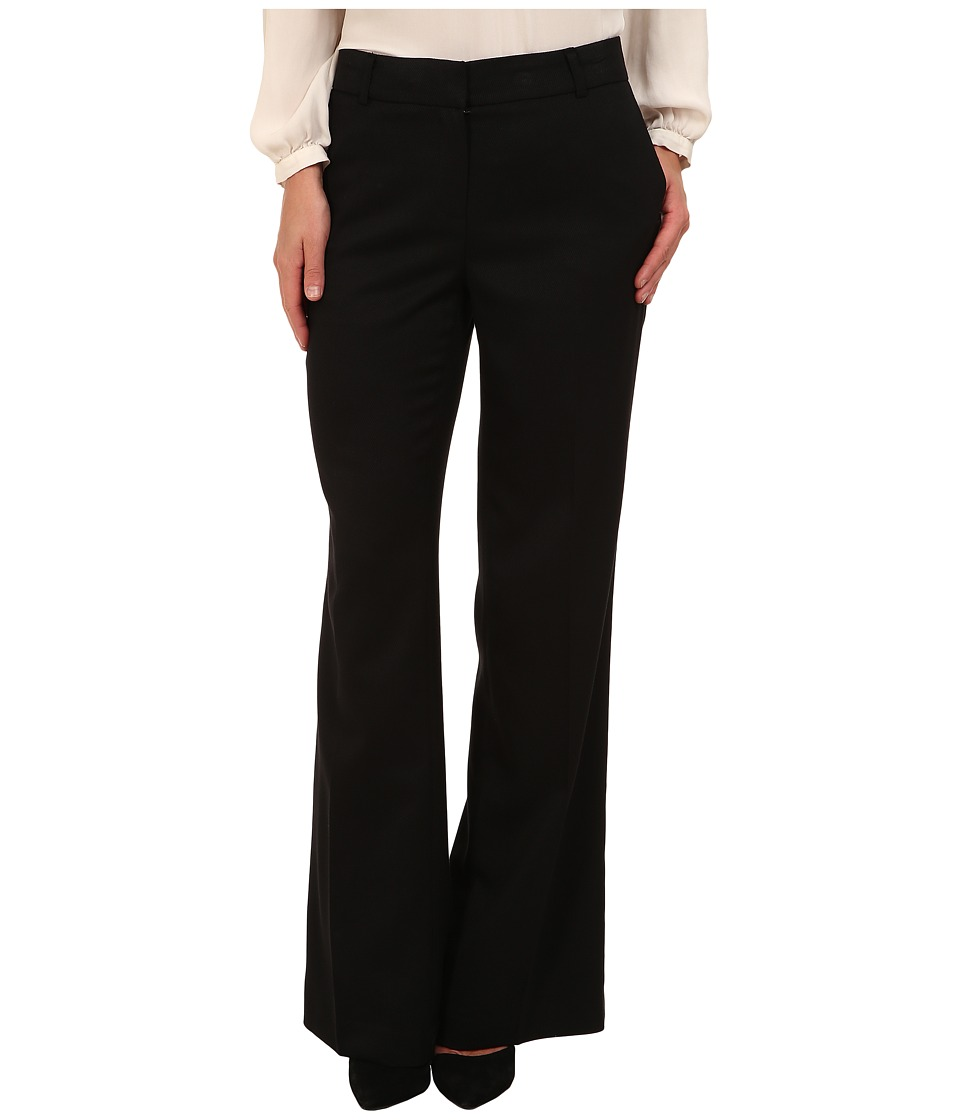 Jones New York - The Zoe Double Welt Pocket Pant (Black) Women