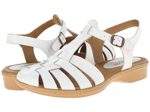 Softspots - Holly (White M-Vege) Women's Sandals