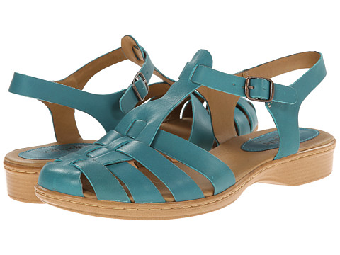 Softspots - Holly (Turquoise M-Vege) Women's Sandals