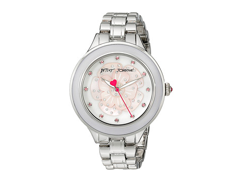 Betsey Johnson - BJ00469-01 (Silver/Mother Of Pearl) Watches
