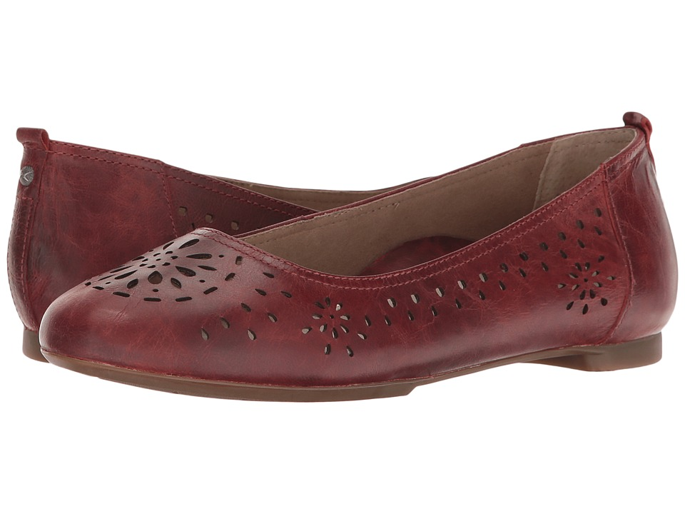 Aetrex - Joanna Ballet Flat (Terra Cotta) Women's Dress Flat Shoes