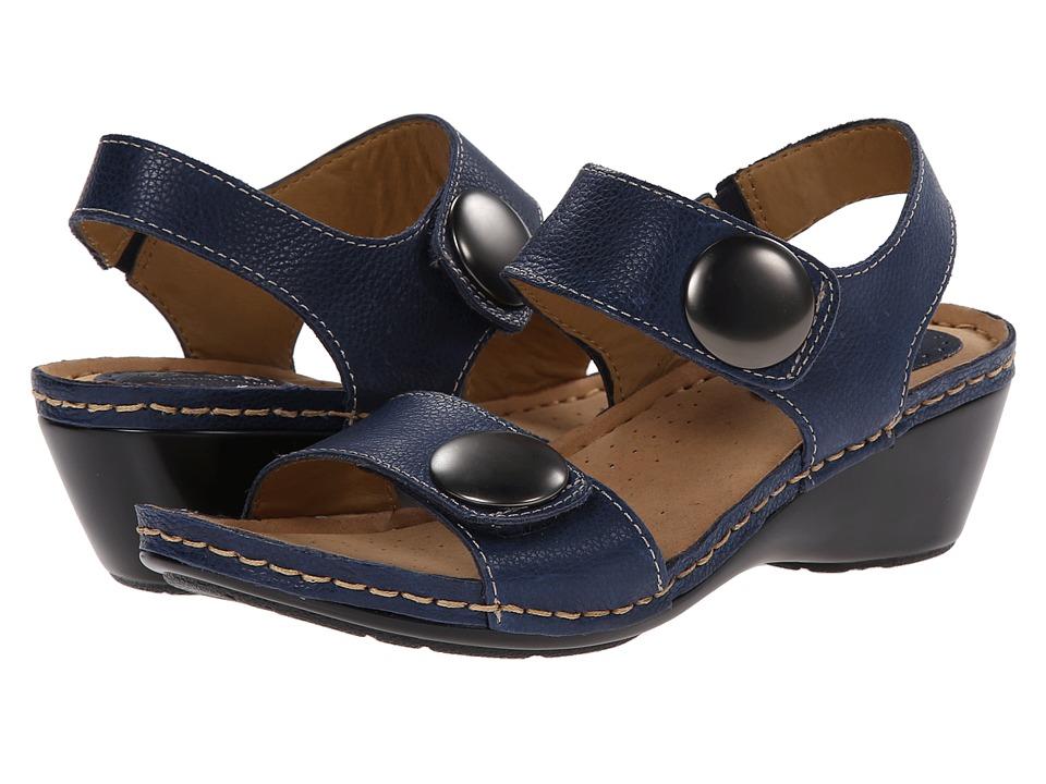 Comfortiva - Pamela - Soft Spots (Denim Blue Melba) Women's Sandals