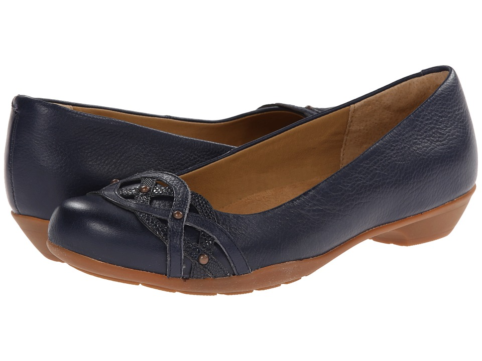 Softspots - Piccola (Ink Blue/Navy Calf Ionic/Tejus Emboss) Women