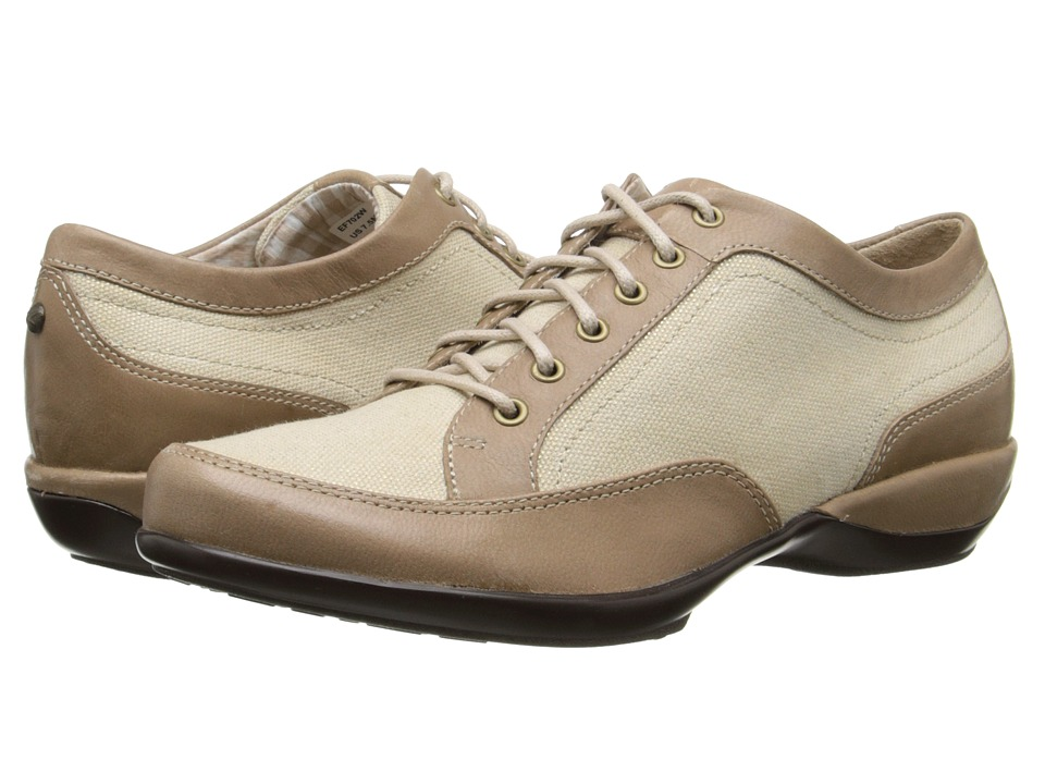 Aetrex Lauren Lace-Up Oxford (Taupe) Women