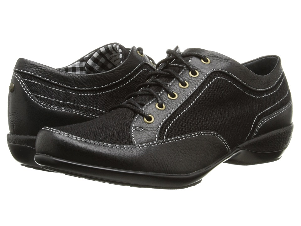 Aetrex Lauren Lace-Up Oxford (Black) Women