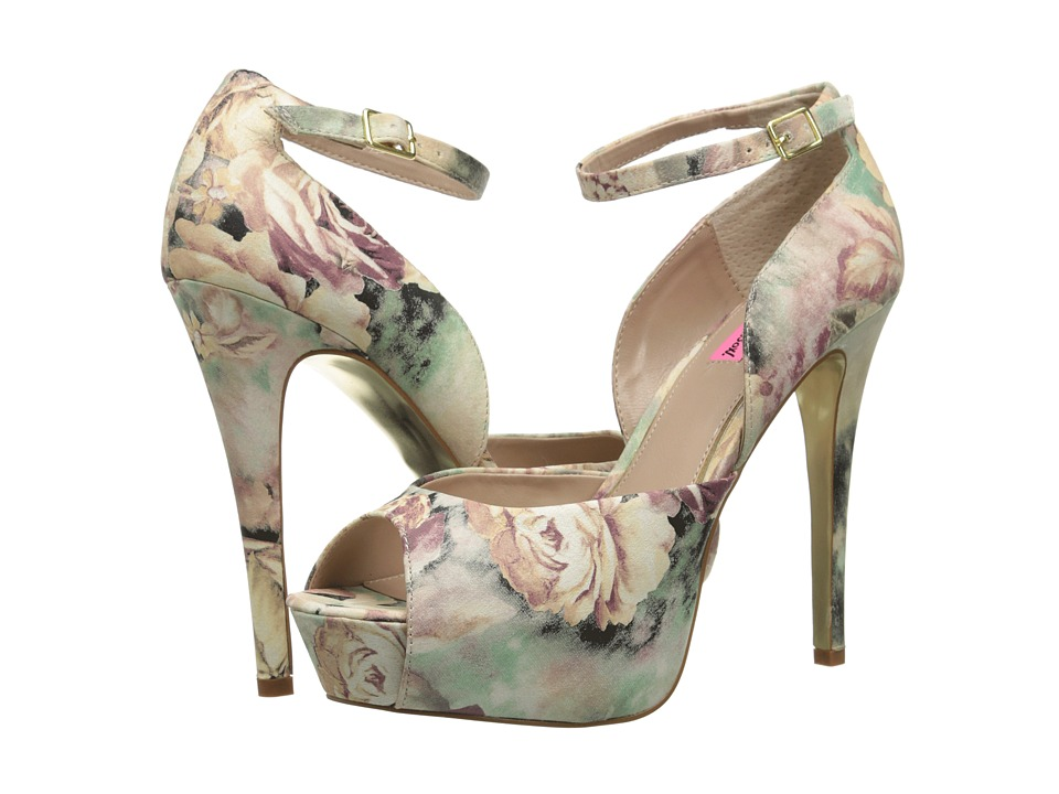Betsey Johnson - Angelick (Floral Multi) High Heels