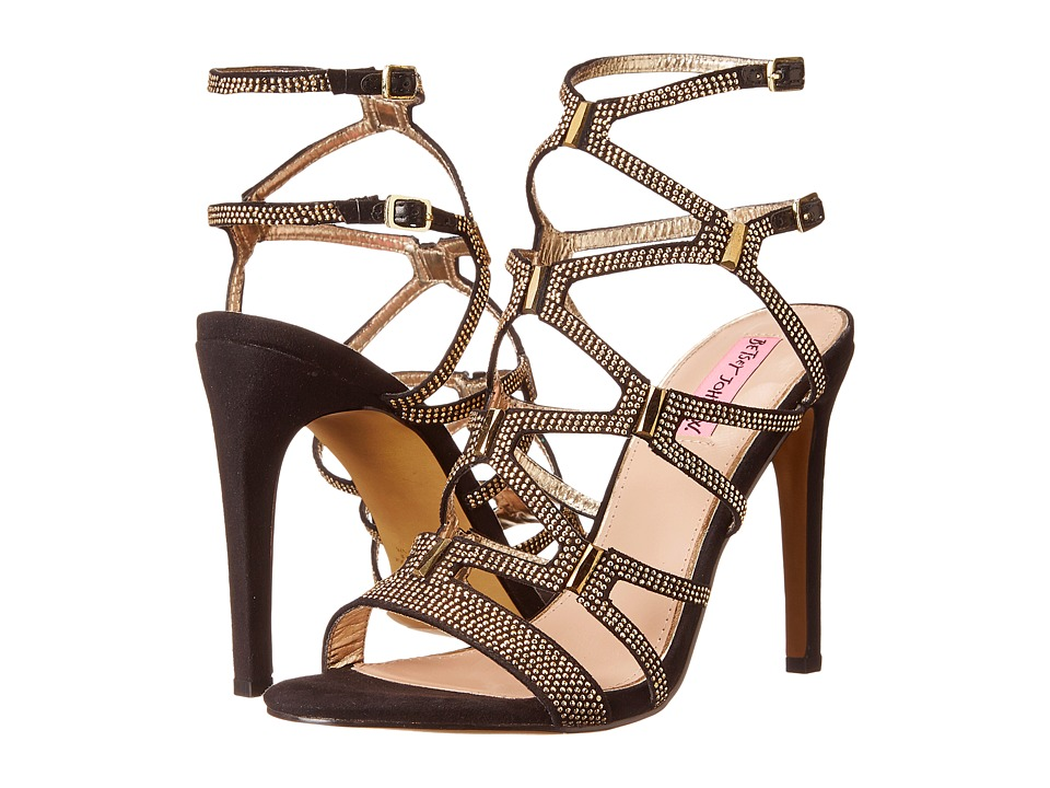Betsey Johnson Ritzyy (Black Multi) High Heels