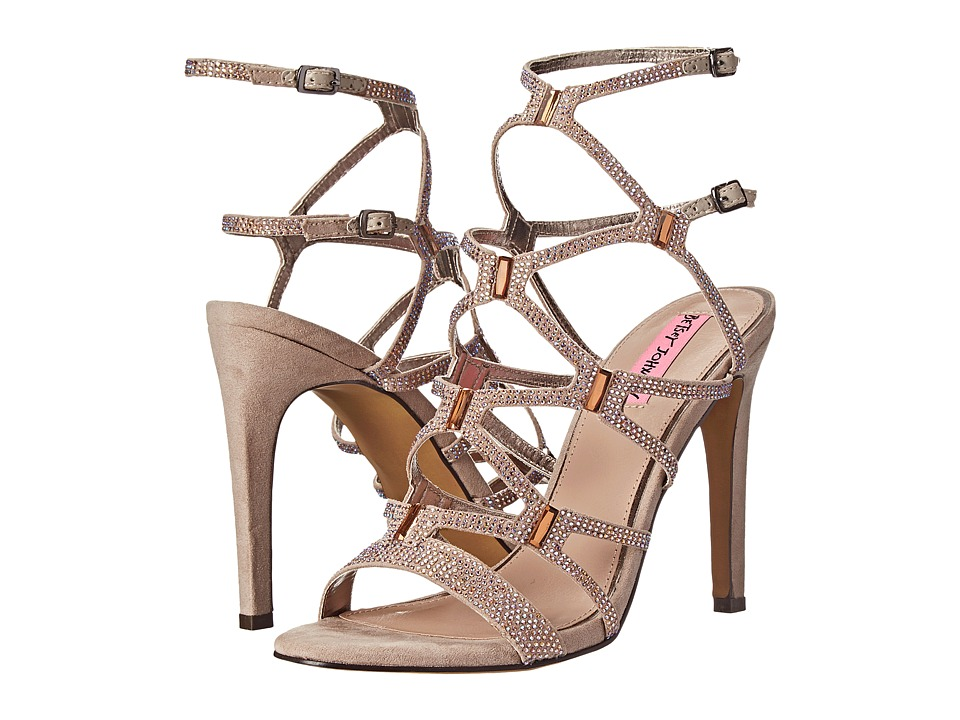 Betsey Johnson Ritzyy (Taupe Multi) High Heels