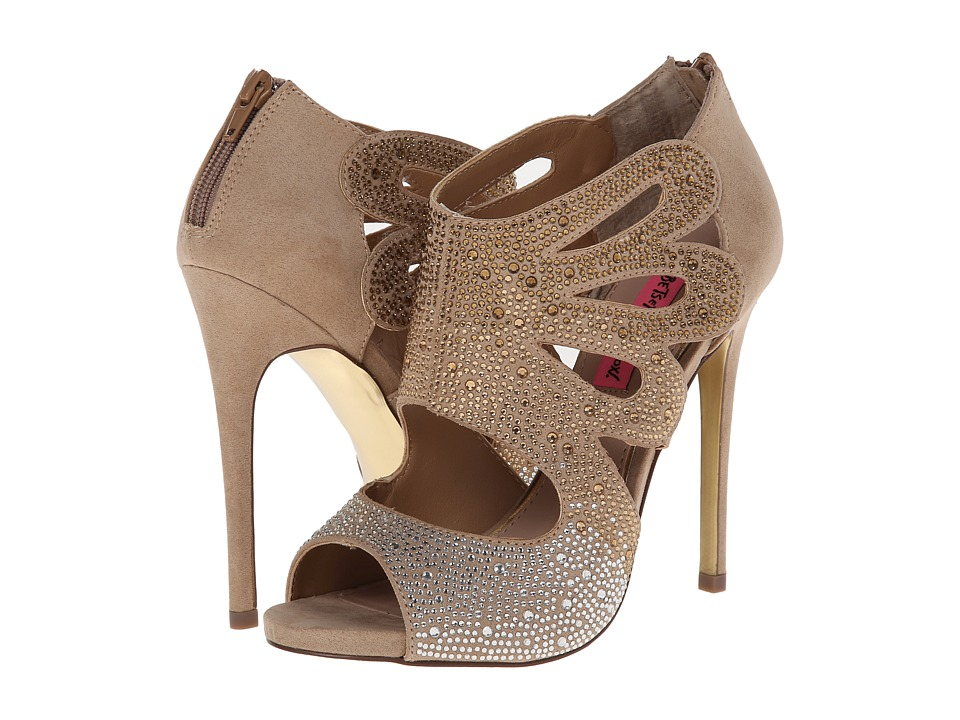 Betsey Johnson Nolaa (Nude Multi) High Heels