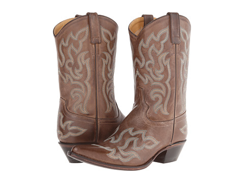 Old West Boots - 18051 (Chocolate Barnwood) Cowboy Boots