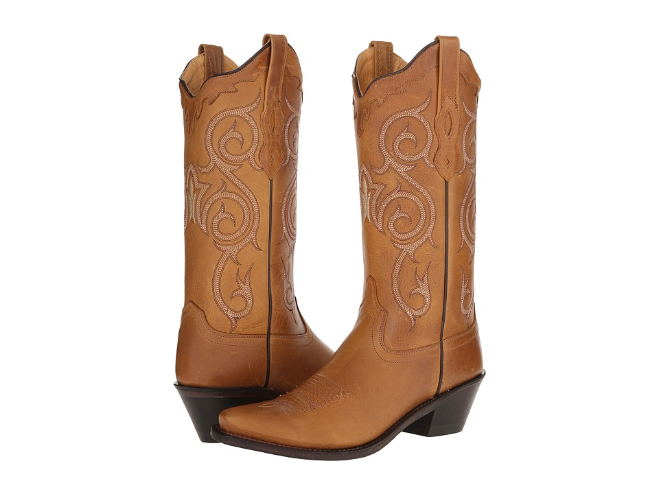 Old West Boots - LF1582 (Light Tan) Cowboy Boots