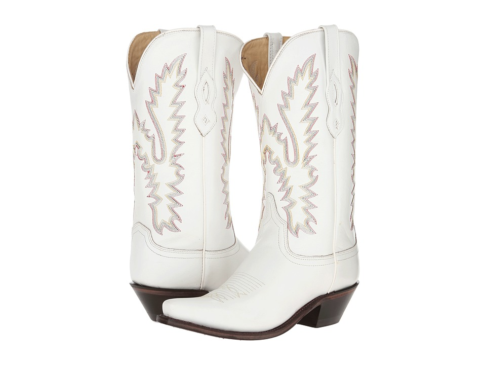 Old West Boots - LF1521 (White) Cowboy Boots