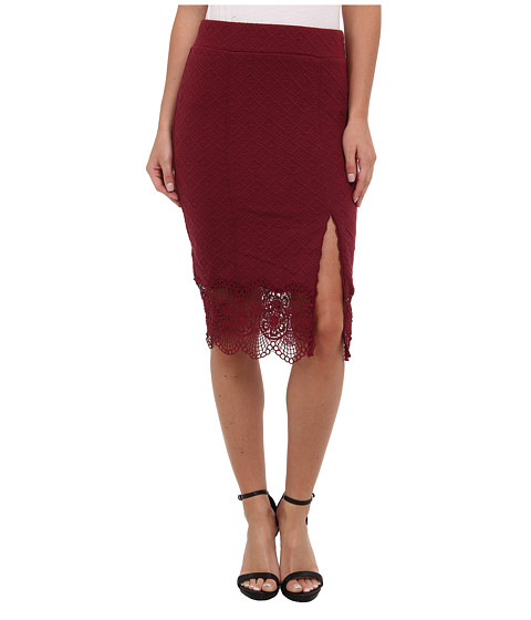 Free People - Story Teller Skirt (Shiraz) Women's Skirt