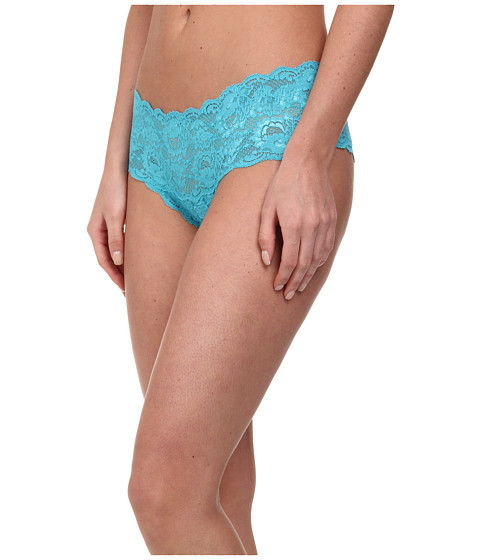 Cosabella - Never Say Never Hottie Lowrider Hotpants (Babylon Blue) Women