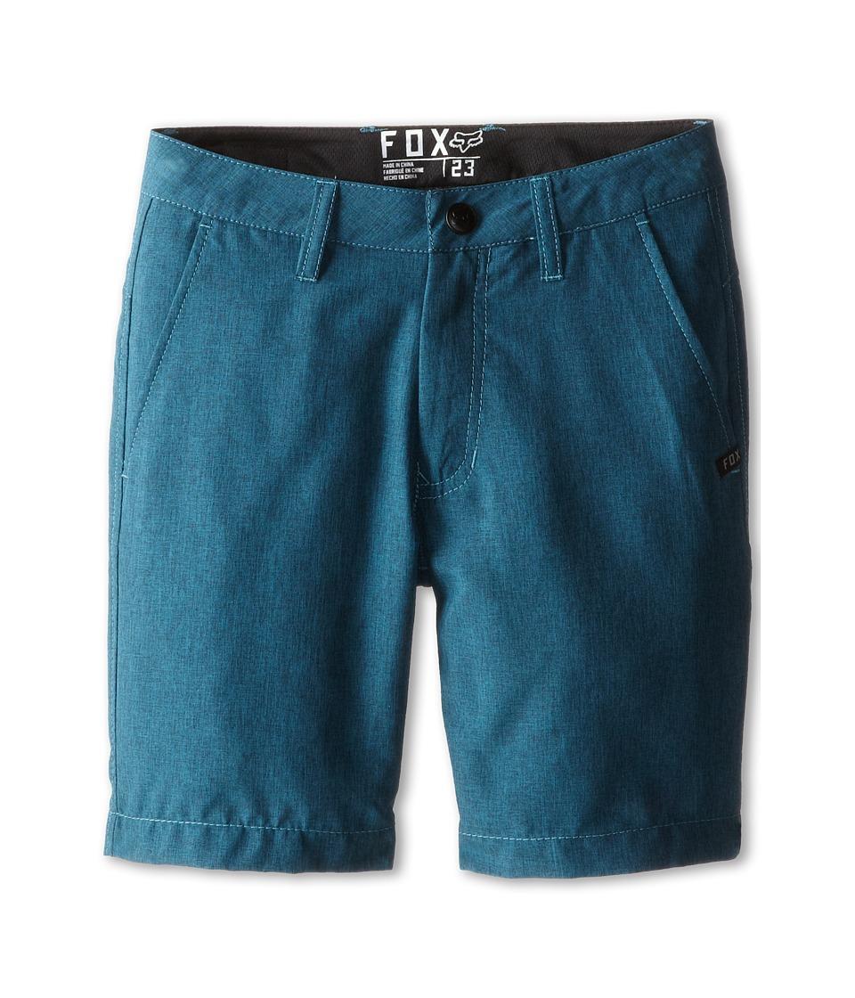 Fox Kids - Essex Tech Short (Big Kids) (Heather Maui Blue) Boy's Shorts