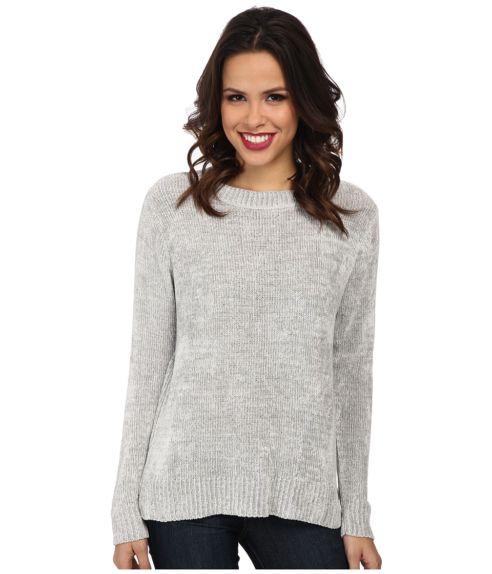 525 america - Chenille Crew Neck (Light Grey) Women