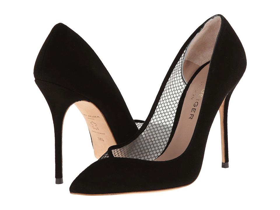 Kurt Geiger - Vida (Black Leather) High Heels