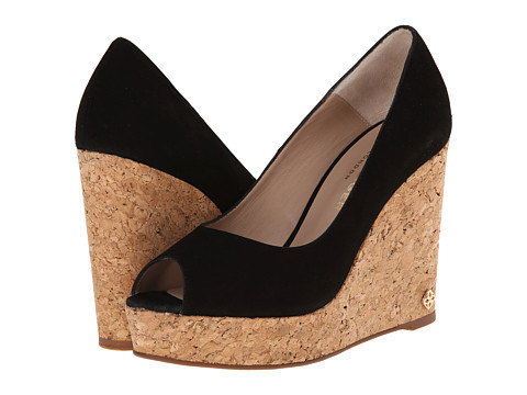 Kurt Geiger - Capella (Black Fabric) Women's Wedge Shoes