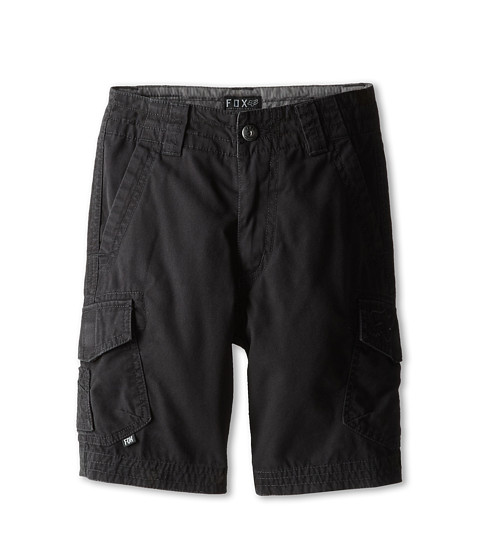 Fox Kids - Slambozo Cargo Short (Little Kids/Big Kids) (Black) Boy's Shorts