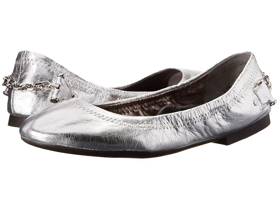 LAUREN Ralph Lauren - Barb (Vintage Silver Vintage Metallic) Women's Flat Shoes