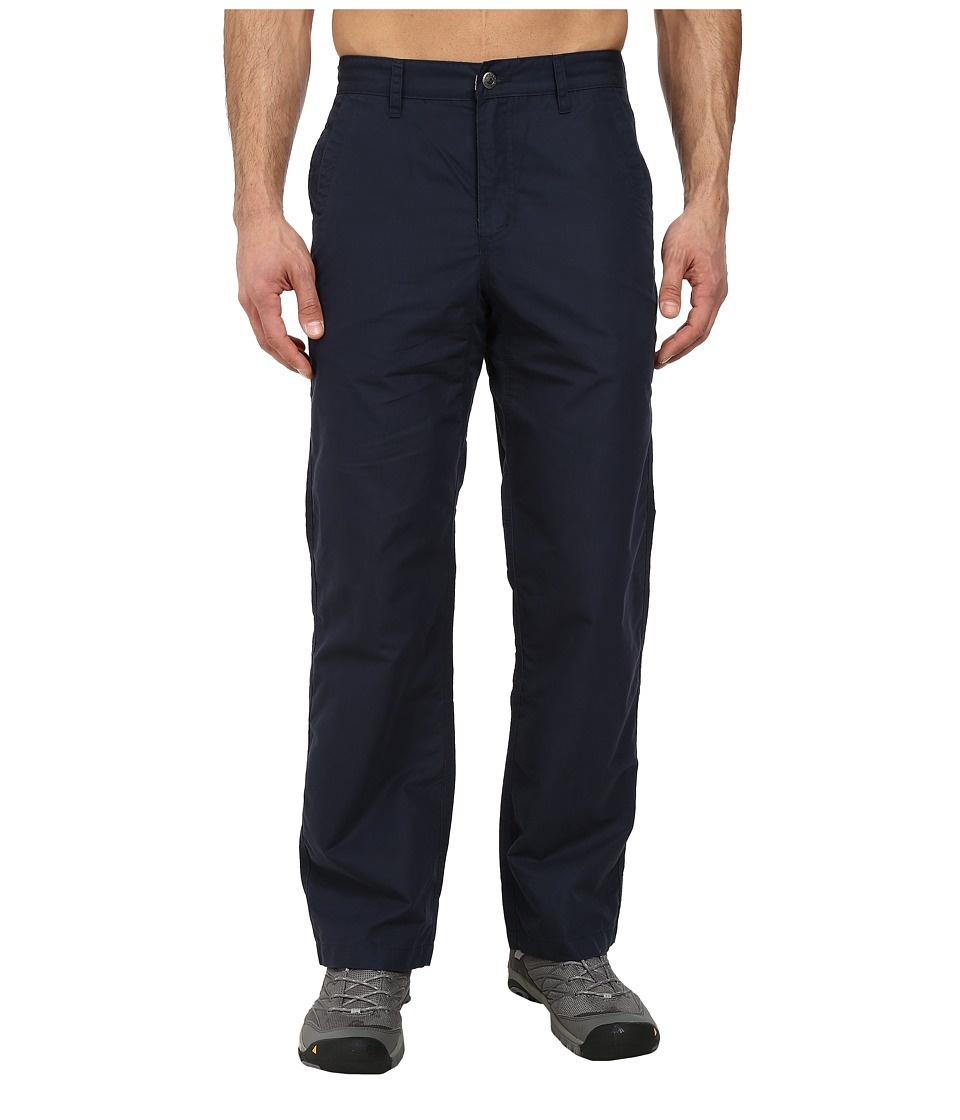 Mountain Khakis - Poplin Pant (Navy) Men's Casual Pants