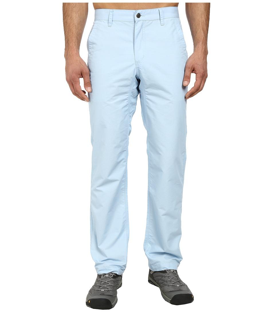 Mountain Khakis - Slim Fit Poplin Pant (Morning Sky) Men's Casual Pants