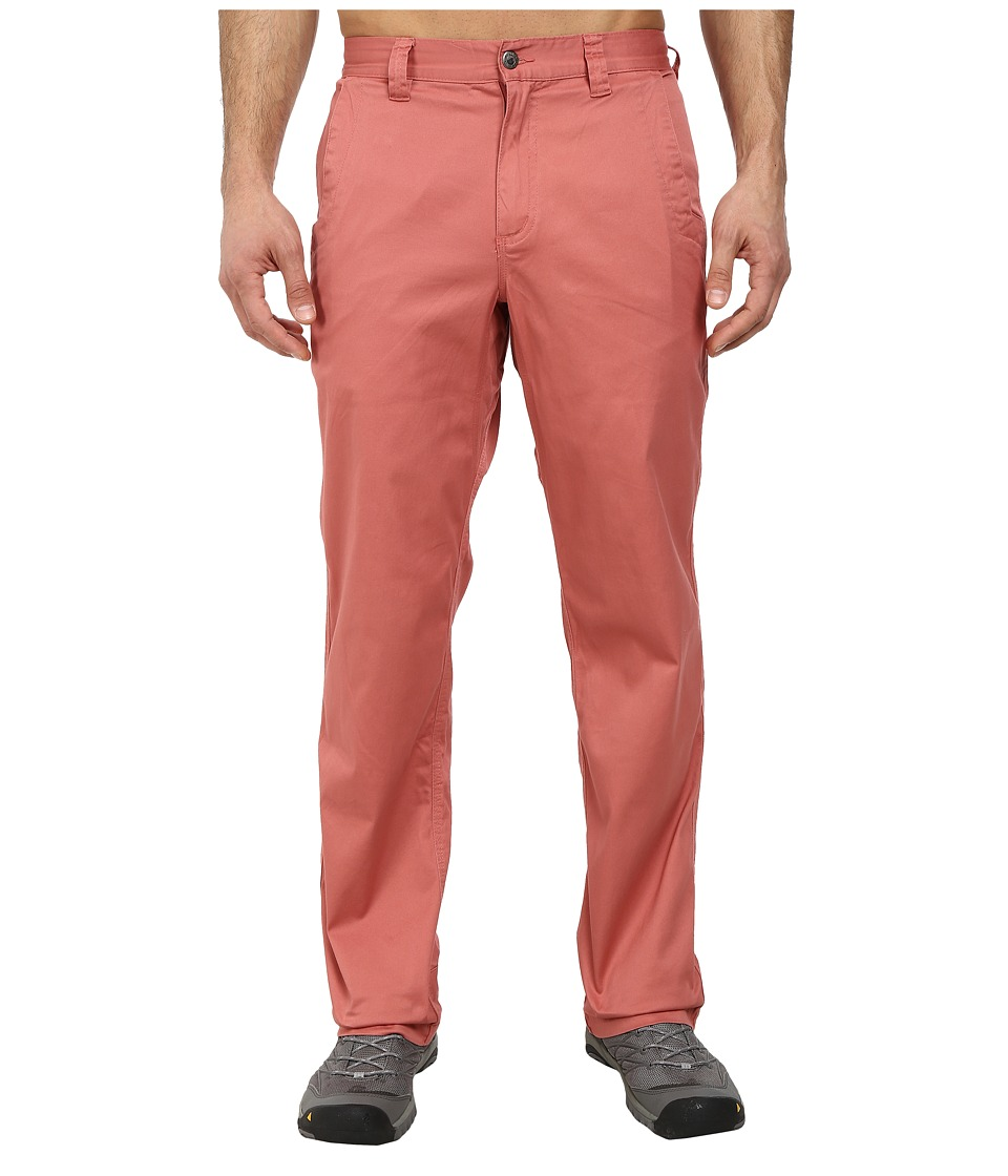 Mountain Khakis - Lake Lodge Twill Pant (Summer Red) Men's Casual Pants