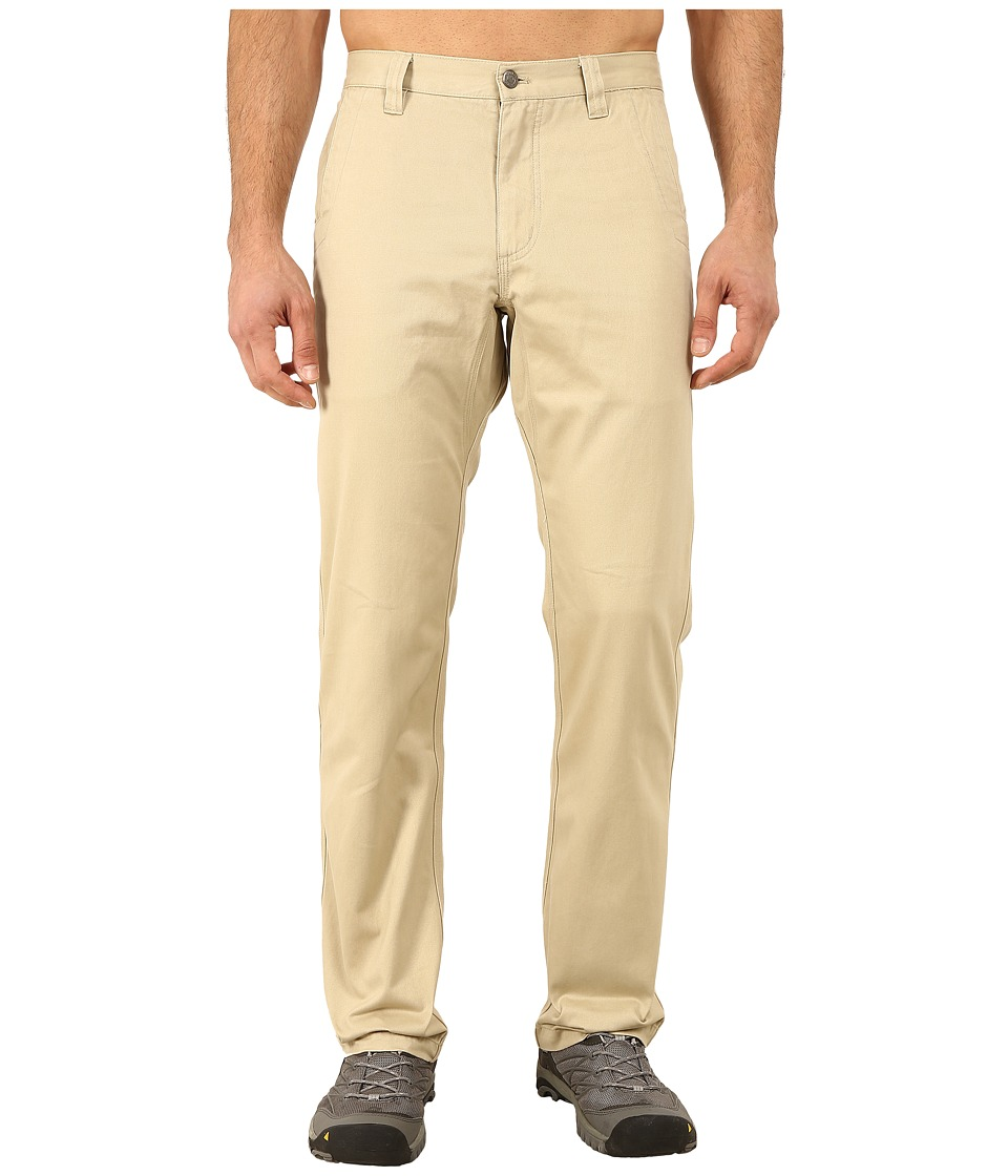 Mountain Khakis - Slim Fit Teton Twill Pant (Sand) Men's Casual Pants