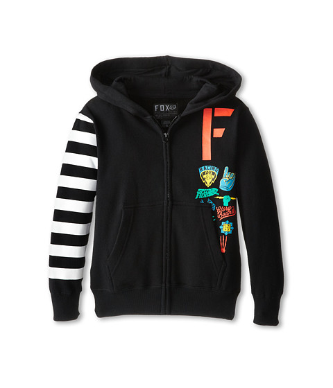 Fox Kids - Grifter Zip Fleece (Big Kids) (Black) Boy's Fleece