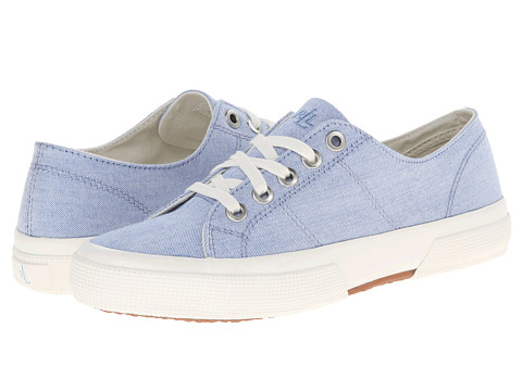 LAUREN by Ralph Lauren - Jolie (Blue Oxford Cloth) Women's Lace up casual Shoes