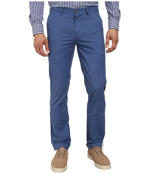 Ben Sherman - Slim Stretch Chino (Washed Blue) Men's Casual Pants
