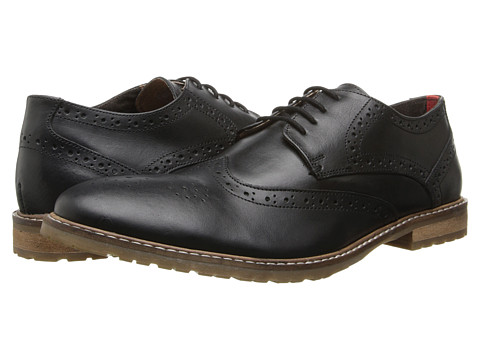 Ben Sherman - Bergen (Black) Men's Lace up casual Shoes